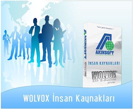 AKINSOFT® Wolvox İnsan Kaynakları